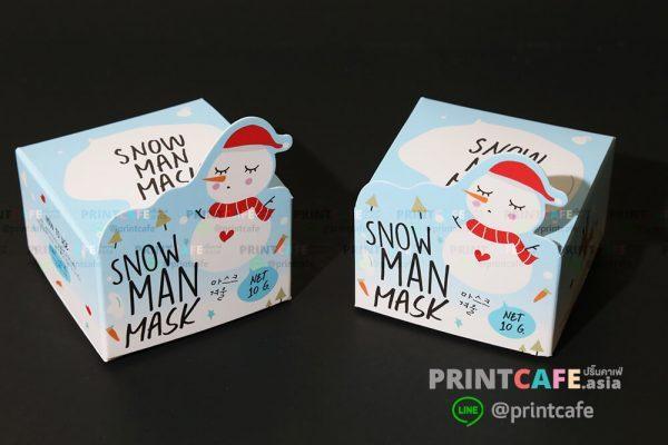 พิมพ์กล่องบรรจุภัณฑ์กล่องสบู่กระดาษ