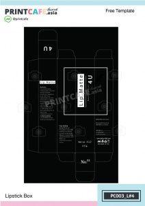 แบบกล่องเซรั่ม PC003-L4