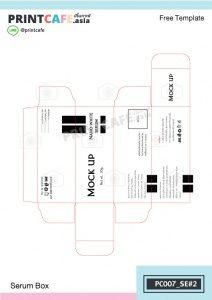 แบบกล่องเซรั่ม PC007-SE2