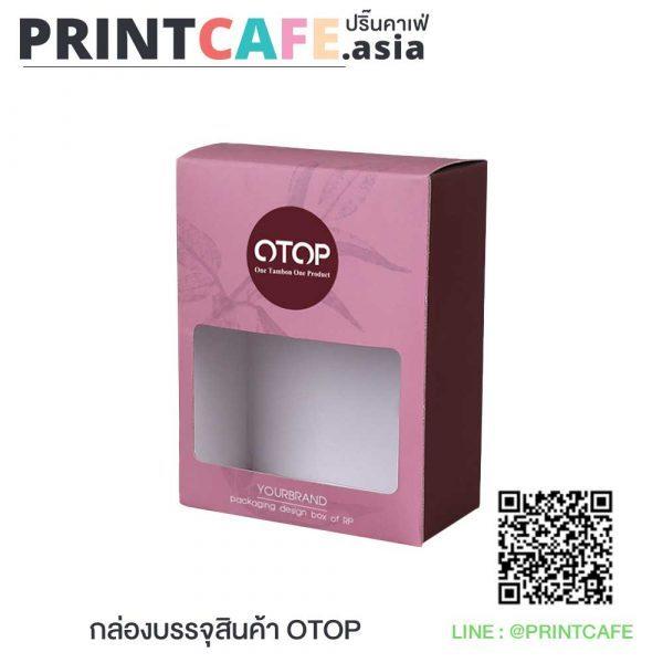 กล่องบรรจุภัณฑ์สินค้า OTOP 01