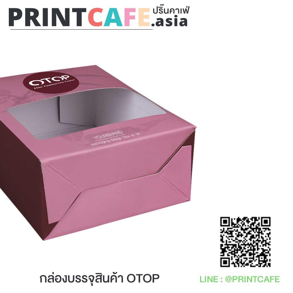 กล่องบรรจุภัณฑ์สินค้า OTOP 03