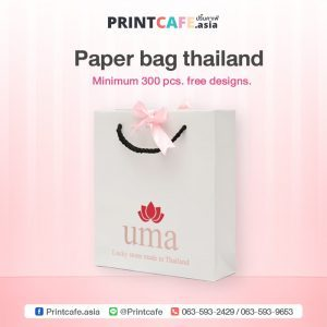 Paper bag thailand. Free Design.